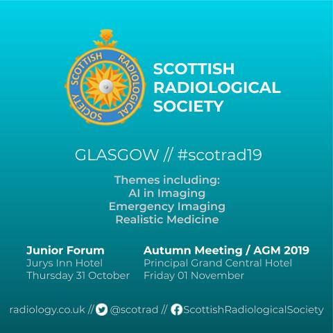 Initial square poster for AGM 2019